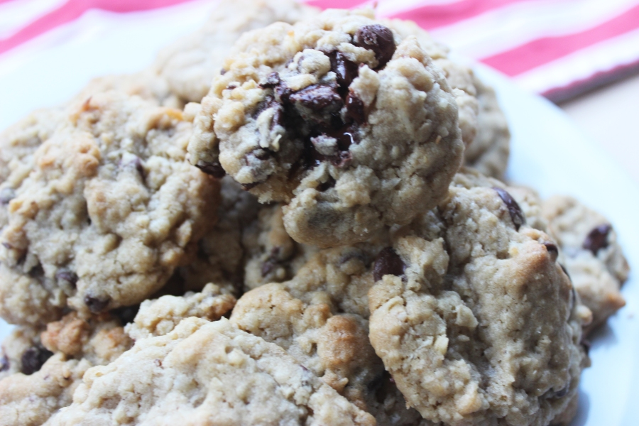 Chocolate Chip Oatmeal Coconut Cookies