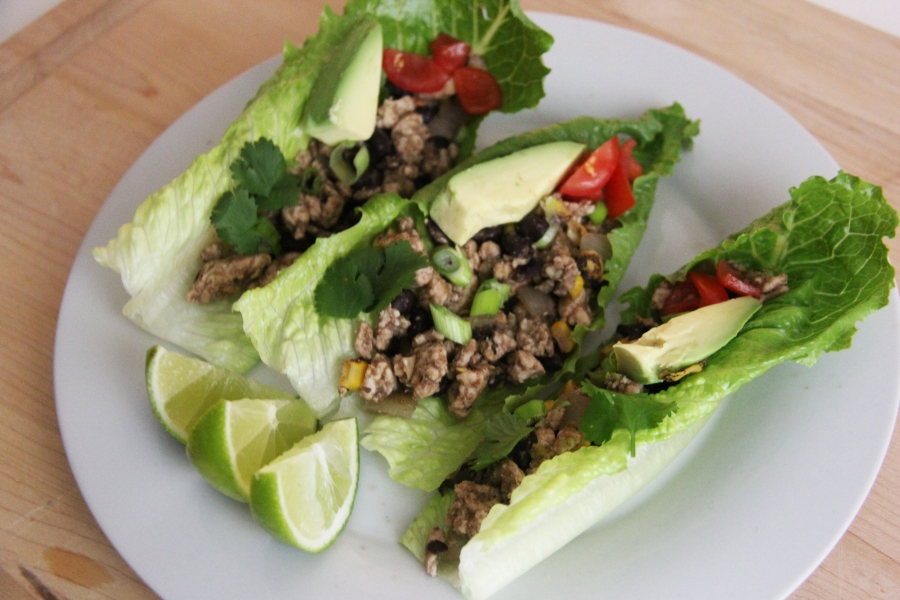 healthy-lunch-lettuce-wraps