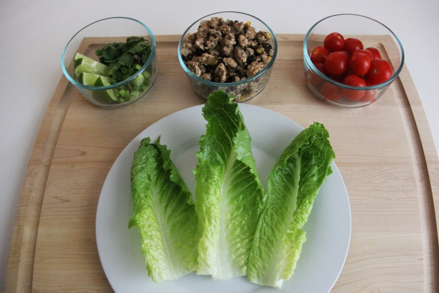 healthy-turkey-lettuce-wraps
