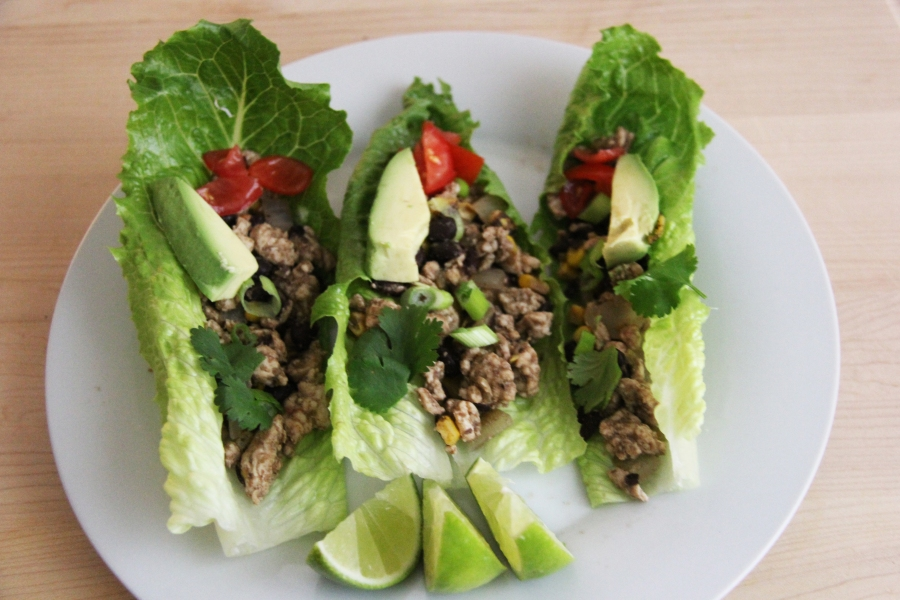 southerwestern-lime-lettuce-wraps